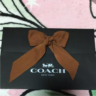 308194cce2ff COACH ギフトボックス リボンセット. ¥700. コーチ(COACH)のコーチ ギフトバック(ラッピング/包装)