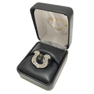 テンダーロイン(TENDERLOIN)のTENDERLOIN ホースシューリング ダイヤ入り シルバー(リング(指輪))