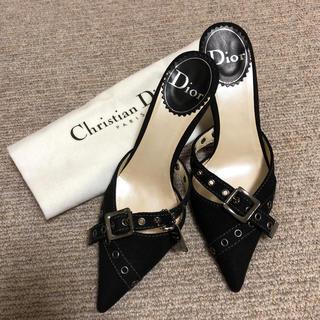 クリスチャンディオール(Christian Dior)のDiorパンプスゴールデンウィークまでお値下げ❗️(ミュール)
