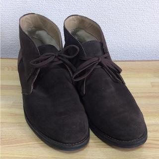 ムジルシリョウヒン(MUJI (無印良品))の【美品】無印良品 デザートブーツ(ブーツ)