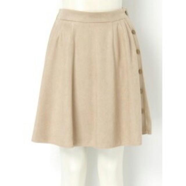 MERCURYDUO(マーキュリーデュオ)のマーキュリー 【DUO】 スエード膝丈SK スカート レディースのスカート(ミニスカート)の商品写真