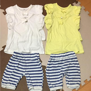 シマムラ(しまむら)のTシャツ 4着 ズボン 2着 セット(Tシャツ)