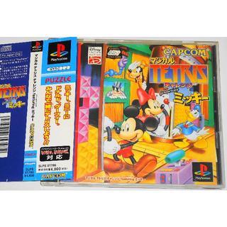 ディズニー(Disney)のPS マジカル テトリス チャレンジ featuring ミッキー ディズニー (家庭用ゲームソフト)