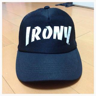 アイロニー(IRONY)のIRONY♡ロゴキャップ(キャップ)
