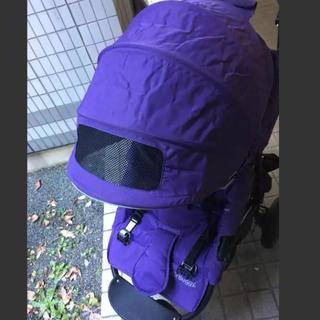エアバギー(AIRBUGGY)のバギー ココブレーキ グレープ 紫 パープル(ベビーカー/バギー)