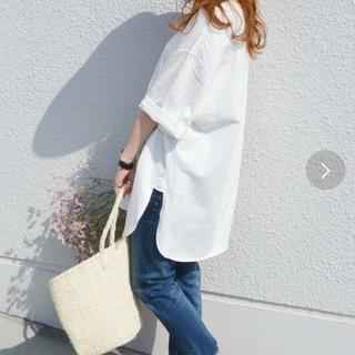 シップスフォーウィメン(SHIPS for women)のビックTシャツ 新品未使用(Tシャツ(半袖/袖なし))