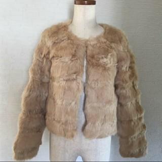 ミスティウーマン(mysty woman)のリアルファージャケット(毛皮/ファーコート)