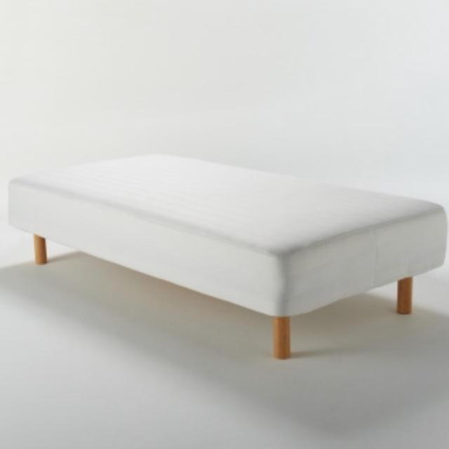 MUJI (無印良品)(ムジルシリョウヒン)の無印良品脚付マットレス インテリア/住まい/日用品のベッド/マットレス(脚付きマットレスベッド)の商品写真