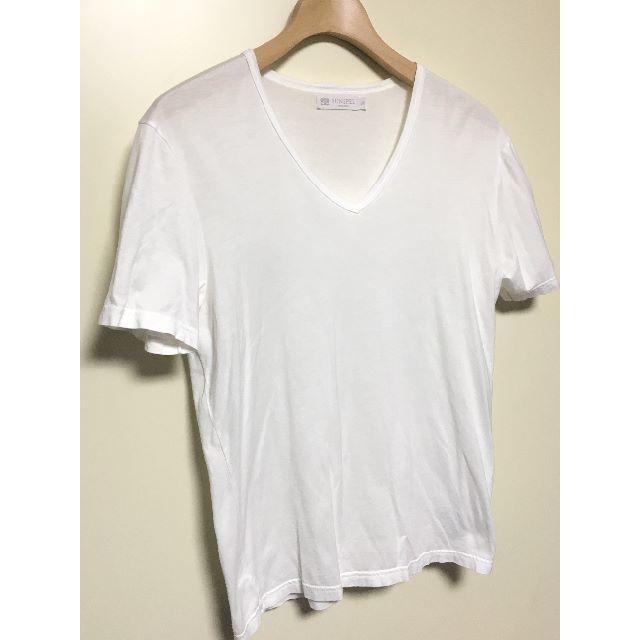 SUNSPEL(サンスペル)のSUNSPEL★サンスペル★半袖Tシャツ★白★Vネック メンズのトップス(Tシャツ/カットソー(半袖/袖なし))の商品写真