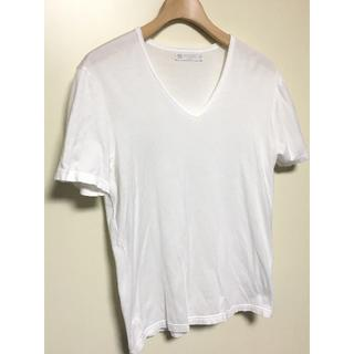 サンスペル(SUNSPEL)のSUNSPEL★サンスペル★半袖Tシャツ★白★Vネック(Tシャツ/カットソー(半袖/袖なし))