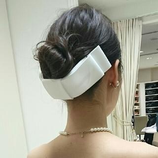 エリマツイ(ERI MATSUI)のリボンボンネ ラブティアラ(ヘッドドレス/ドレス)