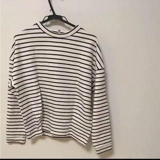 ジーユー(GU)のボーダー (Tシャツ(長袖/七分))