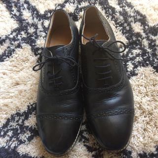ムジルシリョウヒン(MUJI (無印良品))の無印ストレートチップ25cm(ローファー/革靴)