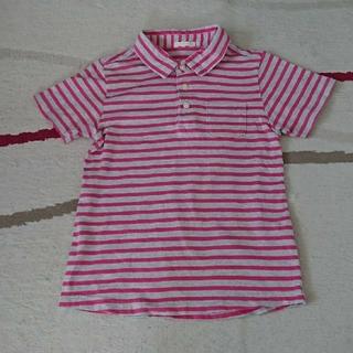 ジーユー(GU)のGU 男児 ポロシャツ 130(Tシャツ/カットソー)