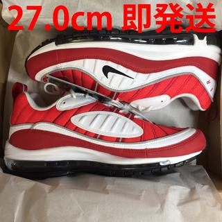 ナイキ(NIKE)の【27.0cm】NIKE W AIR MAX 98 RED AND WHITE(スニーカー)