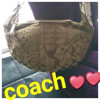 コーチ(COACH)の✨引っ越し処分大特価中っ❣️✨【美品】COACH❤シグネチャーショルダーバッグ(ショルダーバッグ)