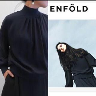 エンフォルド(ENFOLD)のENFOLD  ハイネックプルオーバー(カットソー(長袖/七分))