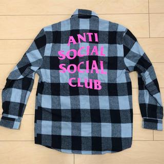 アンチ(ANTI)の★ ANTI SOCIAL SOCIAL CLUB / Hun FLANNEL(シャツ)