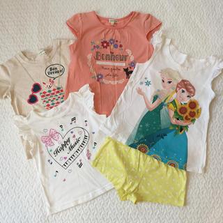 サンカンシオン(3can4on)のまとめ売り 女の子 110 Tシャツなど 子供服(Tシャツ/カットソー)