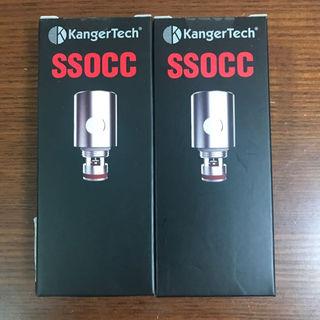 カンガーテック(KangerTech)の2箱セット KangerTech コイル抵抗値:0.5Ω(その他)
