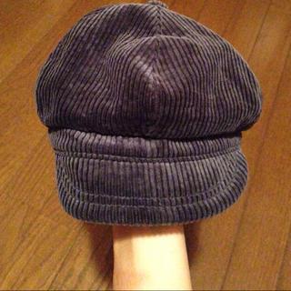 ムジルシリョウヒン(MUJI (無印良品))のコーデュロイ帽子(その他)