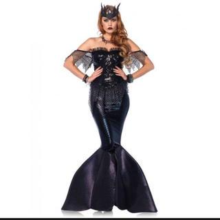 レッグアベニュー(Leg Avenue)の◆ 即納 ◆ ハロウィン 深海の ダークマーメイド 人魚 2点セット(衣装)