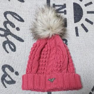 ロキシー(Roxy)のROXY キッズニット帽子☆(帽子)
