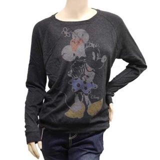 ジャンクフード(JUNK FOOD)のJUNK FOOD ジャンクフード ミニーマウス ロングTシャツ(Tシャツ(長袖/七分))