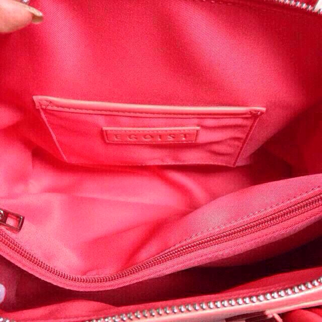 EGOIST(エゴイスト)のEGOIST ピンクバッグ レディースのバッグ(トートバッグ)の商品写真