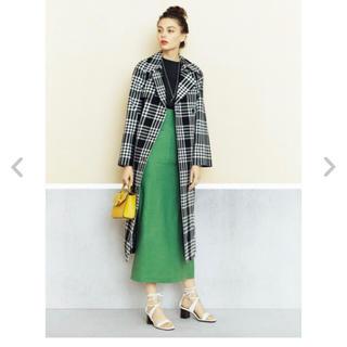 ミラオーウェン(Mila Owen)のミラオーウェン  パッチポケットリネンタイトスカート(その他)