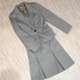 ミッシェルクラン(MICHEL KLEIN)のMK グレー スーツ(スーツ)