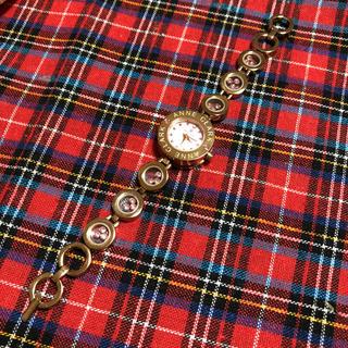 アンクラーク(ANNE CLARK)の☆美品☆ANNE CLARK☆ゴールド×ピンク☆(腕時計)