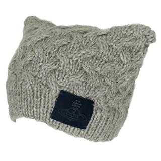 ヴィヴィアンウエストウッド(Vivienne Westwood)のVivienne Westwood 猫耳ワッチ(ニット帽/ビーニー)