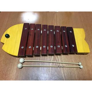 ボーネルンド(BorneLund)のボーネルンド おさかな木琴(楽器のおもちゃ)