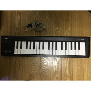 コルグ(KORG)のMIDIキーボード 37鍵(MIDIコントローラー)