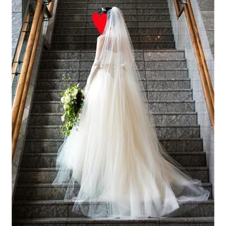 ヴェラウォン(Vera Wang)の【bi様専用】ヴェラウォン バレリーナ 1g029 US6(ウェディングドレス)
