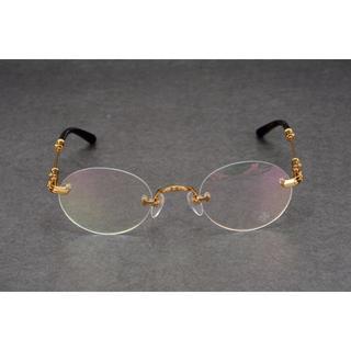 クロムハーツ(Chrome Hearts)のクロムハーツ 眼鏡 メガネ(サングラス/メガネ)