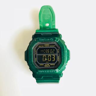 ベビージー(Baby-G)のBaby-G グリーン(腕時計(デジタル))