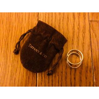 ティファニー(Tiffany & Co.)の【Tiffany&Co./ティファニー】リング/指輪/シルバー/コンビ/正規品(リング(指輪))