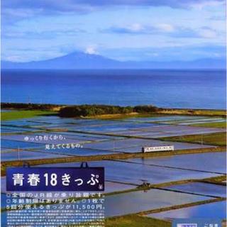 ジェイアール(JR)の青春18きっぷ 4回(鉄道乗車券)