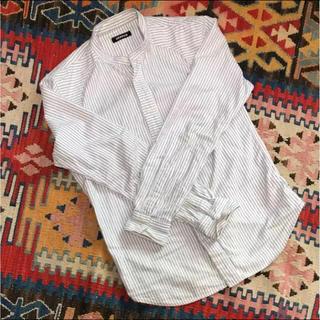 デンハム(DENHAM)のDENHAM ストライプ シャツ サイズM 定価35,000 送料無料(シャツ)