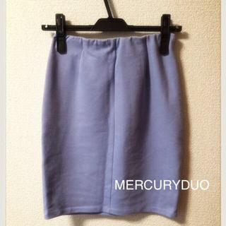 マーキュリーデュオ(MERCURYDUO)のMERCURYDUO タイトスカート(ミニスカート)