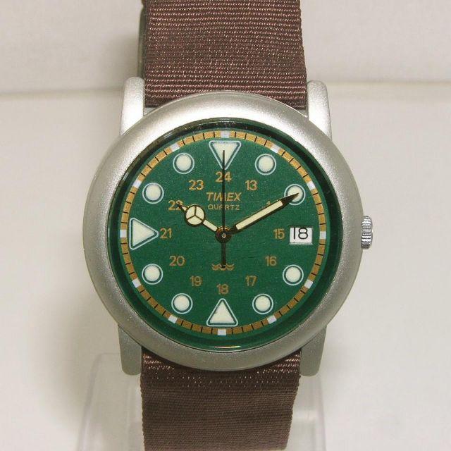 TIMEX(タイメックス)のタイメックス メンズ クオーツ グリーン メンズの時計(腕時計(アナログ))の商品写真