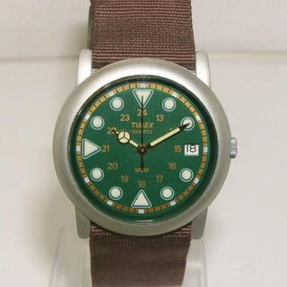 タイメックス(TIMEX)のタイメックス メンズ クオーツ グリーン(腕時計(アナログ))