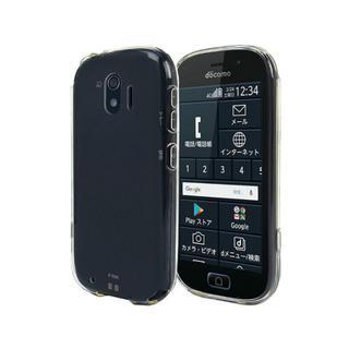 らくらくスマートフォン me ソフト ケース F-03K カバー クリアケース(Androidケース)