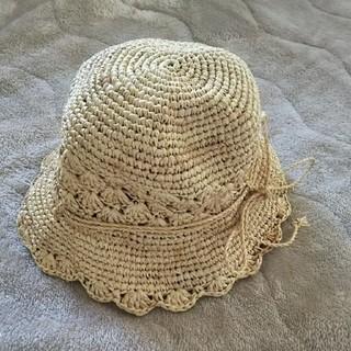ムジルシリョウヒン(MUJI (無印良品))の50㎝麦わら帽子 (帽子)