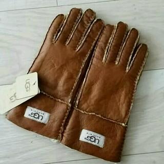 アグ(UGG)のアグUGGレディース本革手袋(手袋)