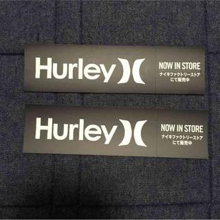 ハーレー(Hurley)のハーレー hurley Hurley ステッカー シール(サーフィン)