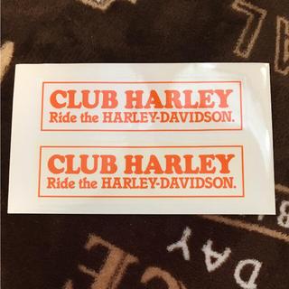 ハーレー(Hurley)のクラブハーレー CLUB HARLEY ステッカー シール(ステッカー)