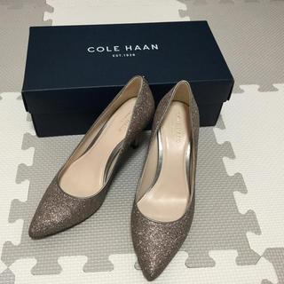 コールハーン(Cole Haan)の☆aya様専用☆COLE HAAN グリッターパンプス(ハイヒール/パンプス)